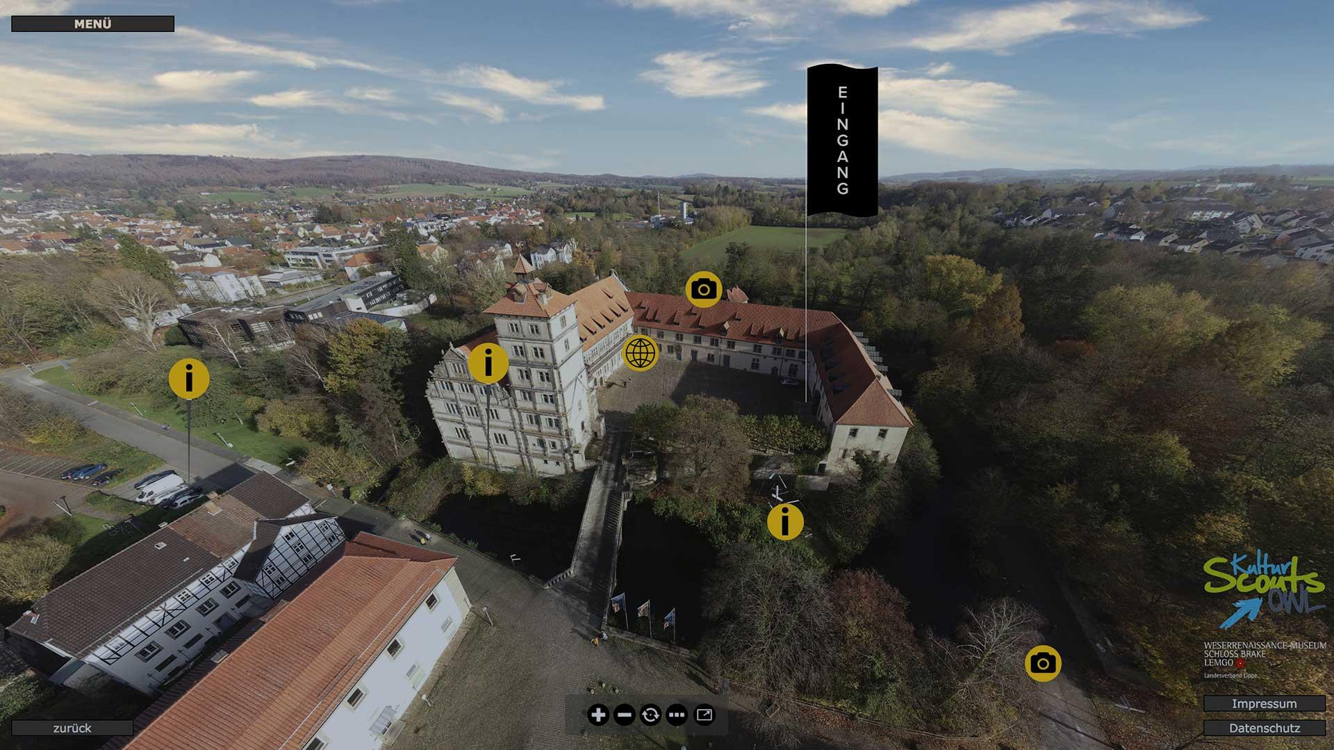 Das Museum virtuell entdecken …